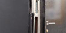 Abrepuertas de portero automático (Modelo I, frontal)
