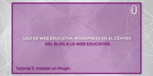 Curso Wordpress básico. Tutorial 3. Instalación de un Plugin