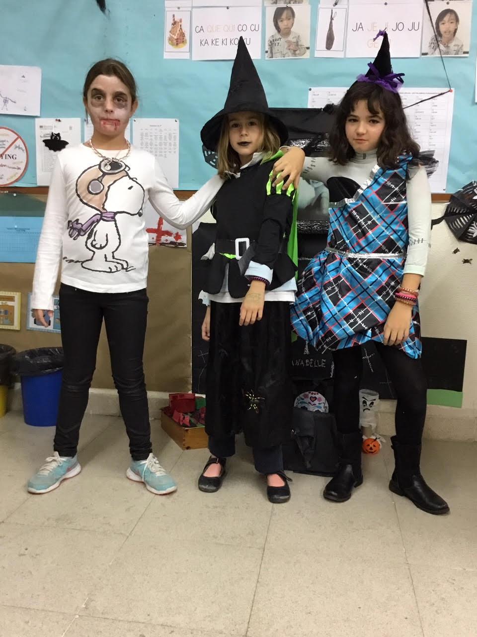 2018_10_31_Cuarto B disfruta en Halloween_CEIP FDLR_Las Rozas 6