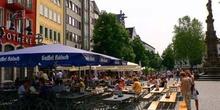 Beer Garden en Colonia, Alemania