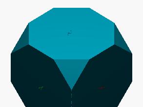 poliedro octógono triángulo