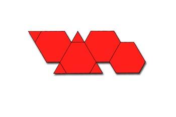 Desarrollo de un tetraedro truncado