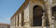 Entrada al claustro de las dominicas en Loeches