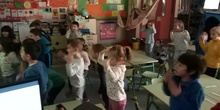 "Infantil 5 años A - ""Head, shoulders, knees and toes"""