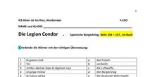 Legion Condor - Guernica (Arbeitsblatt) - 4º ESO