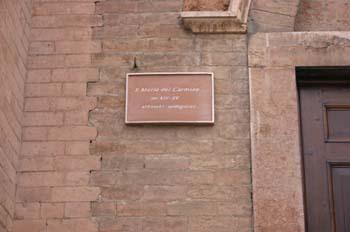 Santa María del Carmen, Pavía