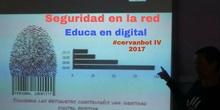 """#cervanbot 2017: """"Seguridad en la red"""" con 6º de Educa en digital (grabaciones realizadas por alumn@s)"""