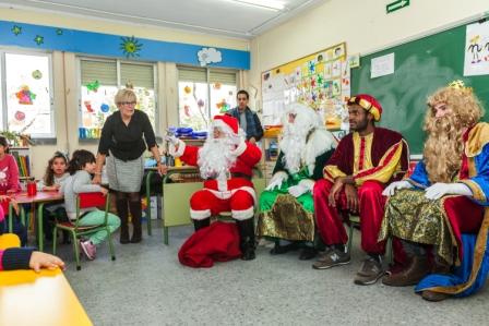 Los RRMM y Papá Noel en INF 5A 47
