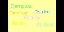 PRIMARIA_6º_VERBOS ACABADOS EN -BIR Y -BUIR_LUCÍA
