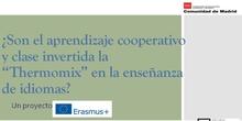 """¿Son el aprendizaje cooperativo y la clase invertida la """"Thermomix"""" en la enseñanza de idiomas? Un proyecto Erasmus+"""