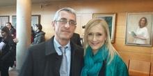La Presidenta de la Comunidad de Madrid y el director del CTIF Madrid-Sur
