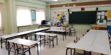 Primaria. Aula de 1º-2º de primaria.