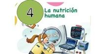 """CIENCIAS NATURALES """"LA NUTRICIÓN HUMANA"""""""