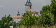 Torre de iglesia en Torres de la Alameda