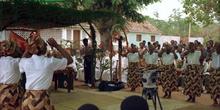 Celebración en Anchilo, Mozambique