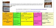Plan de actividades 8  - 4 años infantil