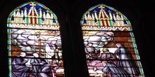 Vidrieras, Catedral de Burgo de Osma