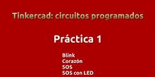 Práctica 1 Tinkercad-Arduino