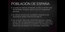 5º sociales población de España