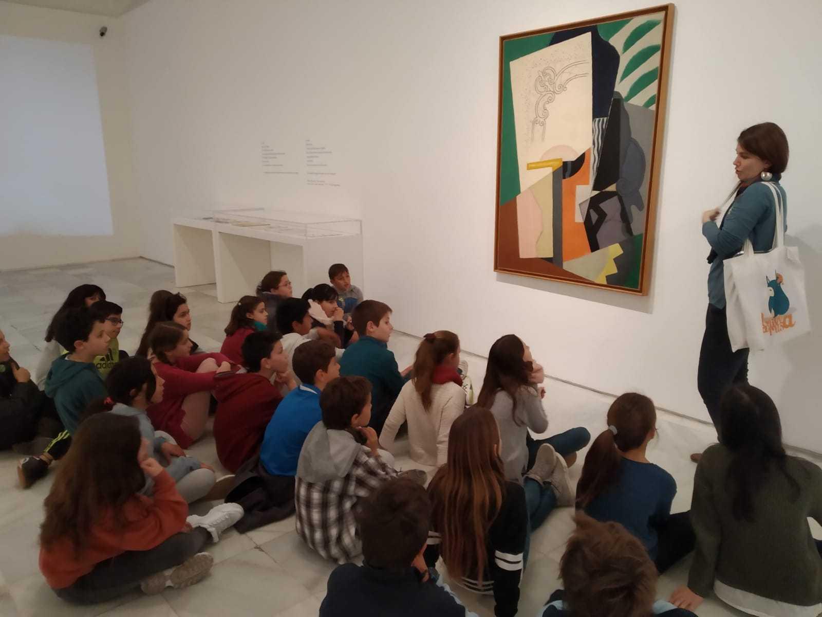 2019_02_07_Quinto visita Museo Reina Sofia_CEIP FDLR_Las Rozas 6