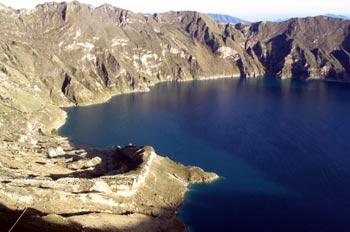 Laguna de Quilotoa, Ecuador