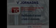 """Ponencia de D. Mario del Olmo: """"Facilitando a todo el alumnado el acceso"""""""