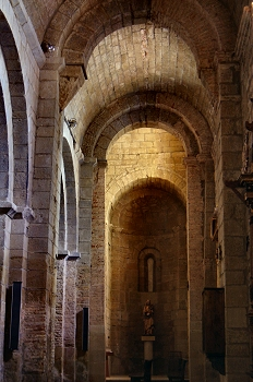 ábside sur. Iglesia de San Pedro el Viejo, Huesca
