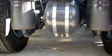 Vehículos industriales. Suspensión neumática de eje trasero