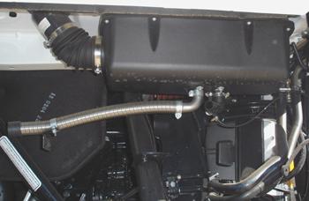 Vehículos industriales. Equipo de calefacción autonoma