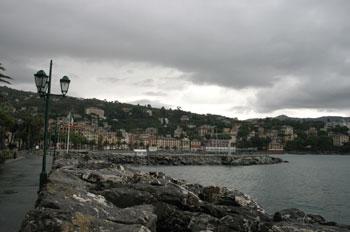 Panorámica de la costa, Santa Margherita