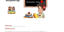 INDEFINITE PRONOUNS AND QUESTION TAGS