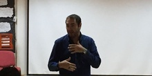 Visita del escritor Fernando J. López 1