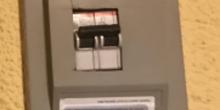 interruptor de control de potencia