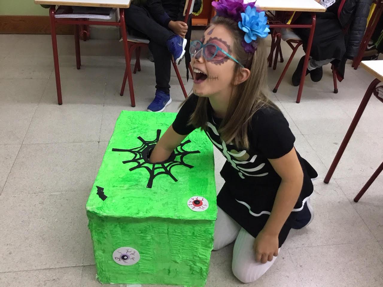2018_10_31_Cuarto B disfruta en Halloween_CEIP FDLR_Las Rozas 8