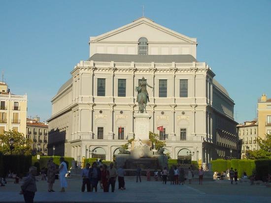 Teatro Real de Madrid en Ópera