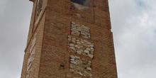 Torre de la iglesia en Orusco