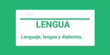 Lenguaje, lengua y dialectos
