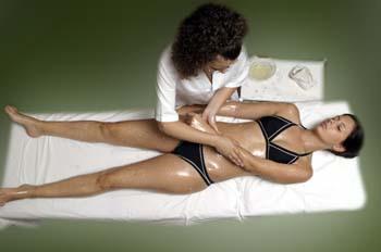 Masaje de Sales: extremidades superiores: Tendido supino