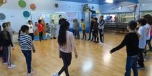 Los alumnos de 4º de Primaria en MUS-E 1