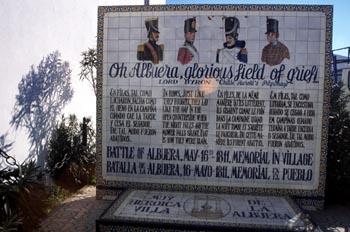 Monumento a la Batalla de La Albuera, Badajoz