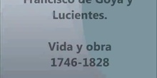 Goya vida y obra