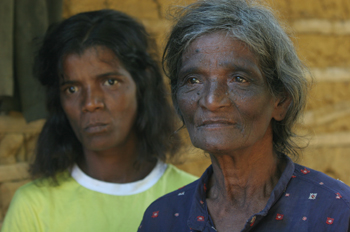 Rostros de mujeres, Quilombo, Sao Paulo, Brasil