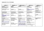 deberes semana 11 al 15 de mayo - 6º primaria