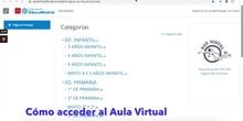 Tutorial familias: cómo acceder al Aula Virtual