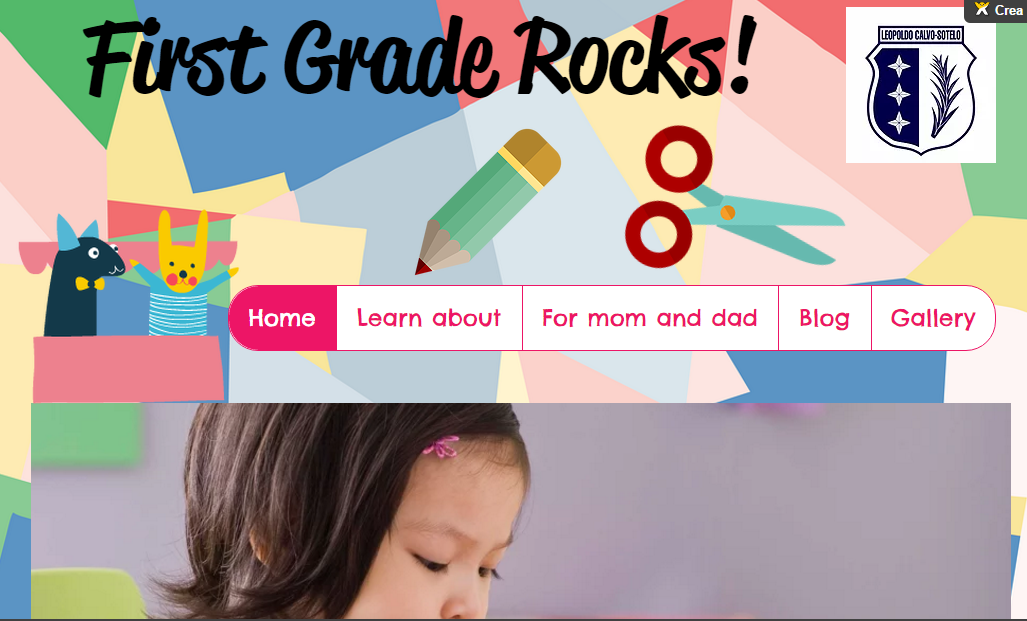 First Grade Website