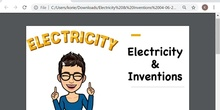 Electricity & Inventions (V)