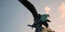 Estatua de Turul, Budapest, Hungría
