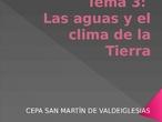 Tema 3_ Las aguas y el clima de la Tierra