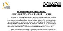 Unidad didáctica interdisciplinar para el Ámbito Científico-Tecnológico de 1º y 2º ESO