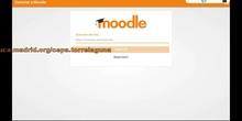 Acceder al aula virtual desde la app Moodle